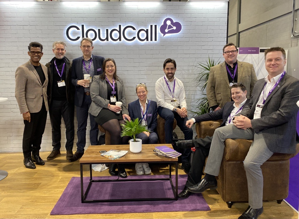 CloudCall at the recruitment agency expo